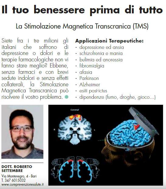 Cure, Prevenzione e Salute - Dr. Roberto Settembre - Feelgood StarBene Puglia